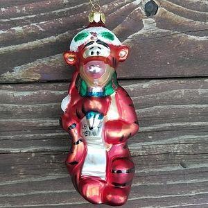 Winnie The Pooh 'Tiger' European Glass Ornament
